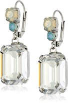 Sorrelli Aegean Sea Treat Yourself Swarovski Crystal and Rhinestone Earrings