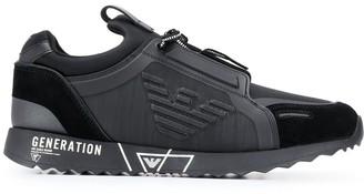 Emporio Armani Panelled Sneakers