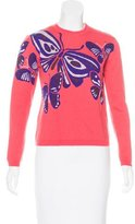 DELPOZO Wool & Cashmere-Blend Sweater