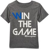 """Champion Boys 4-7 Win The Game"""" Performance Graphic Tee"""