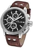 TW Steel 'CEO Adesso' Quartz Stainless Casual Watch, Color:Brown (Model: CE7006)