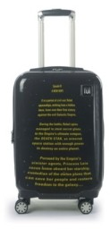 """FUL Star Wars A New Hope Opening Crawl Printed 21"""" Luggage Spinner"""
