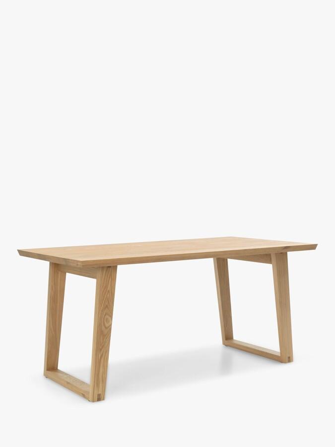 John Lewis & Partners Reflex 6 Seater Dining Table, Oak