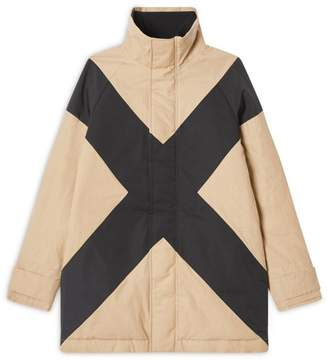 Burberry Kids Cross Puffer Jacket (3-14 years)