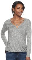 Juicy Couture Women's Strappy Marled Top