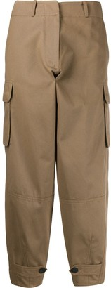 Antonio Marras Cropped Loose-Fit Trousers
