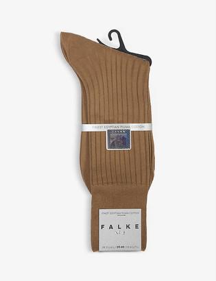 Falke No13 finest piuma cotton-blend socks