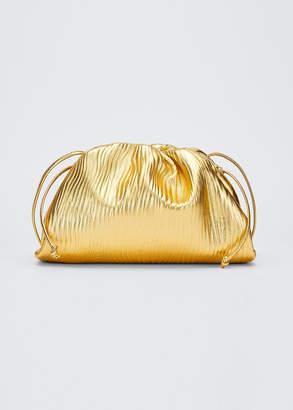 Bottega Veneta Small Metallic Pouch Bag