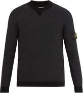 Stone Island Contrast-edge sweater