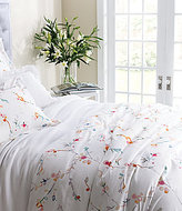 Pine Cone Hill Blossom Watercolor Floral Cotton Percale Duvet