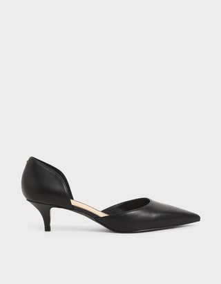 Charles & KeithCharles & Keith D'Orsay Kitten Heel Court Shoes