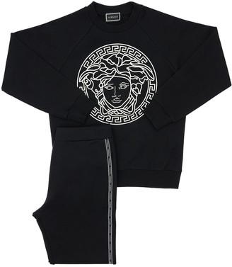 Versace Cotton Sweatshirt & Sweatpants