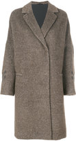 Brunello Cucinelli bouclé coat - women - Silk/Polyamide/Acetate/Virgin Wool - 40