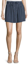 Joie Wendolyn Striped Button-Front Skirt