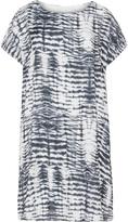 Zizzi Plus Size Tie-dye stripe dress
