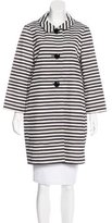 Kate Spade Franny Striped Coat w/ Tags
