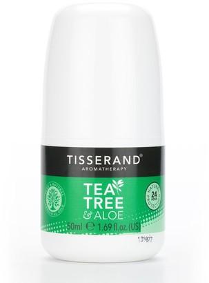 Tisserand Aromatherapy Tisserand Tea Tree & Aloe Deodorant 50Ml