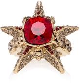 Alexander McQueen Star and Skull Ring