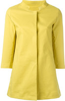 Herno Lemon raincoat - women - Cotton/Polyurethane - 38