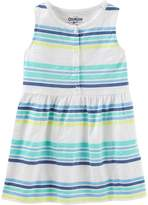 Osh Kosh Oshkosh Bgosh Girls 4-12 Striped Dress
