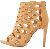 Charlotte Russe Laser Cut Dress Sandals