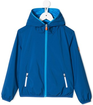 Save The Duck Kids Zipped-Up Jacket