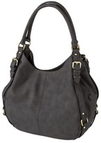 Merona Women's Timeless Collection Large Hobo Faux Leather Handbag