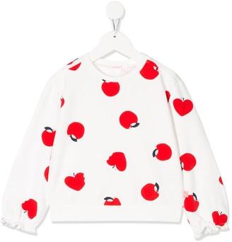 Billieblush Apple Print Sweater