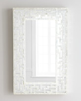 Horchow Capiz Fretwork Mirror