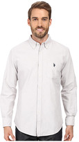 U.S. Polo Assn. Long Sleeve Classic Fit Solid Oxford Cloth Button Down Sport Shirt