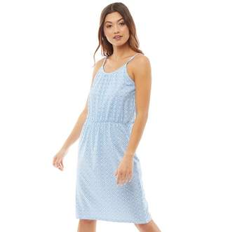 Board Angels Womens Tile Print Sundress Blue/White