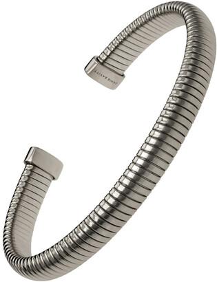 Janis Savitt Small Black Gold Plated Cobra Cuff Bracelet