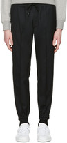 Marc Jacobs Black Wool Trousers