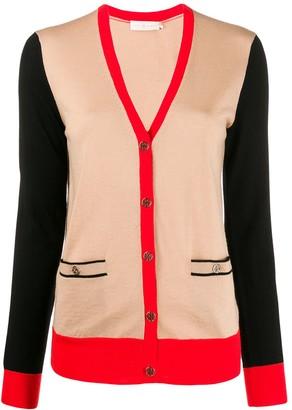 Tory Burch color-block Madeline cardigan