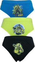 Marvel The Incredible Hulk 3 Pack Boys Pants / Briefs