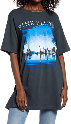 Daydreamer Pink Floyd Wish You Were Here Oversize Graphic Tee