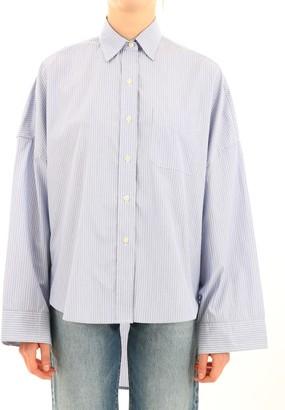R 13 Shirt Over Light Blue