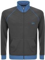 HUGO BOSS Full Zip Sweatshirt Grey