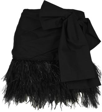 N°21 N21 Bow Mini Skirt