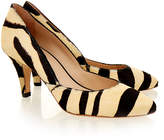 Loeffler Randall Tamsin Zebra print Leather Court