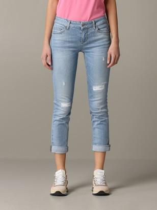 Liu Jo Slim Fit Jeans With Breaks