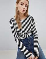 Pimkie Long Sleeve Striped Top
