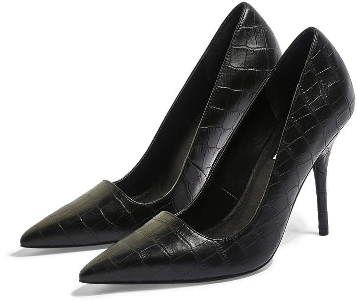 Topshop Game Elongated Pointy Toe Pump