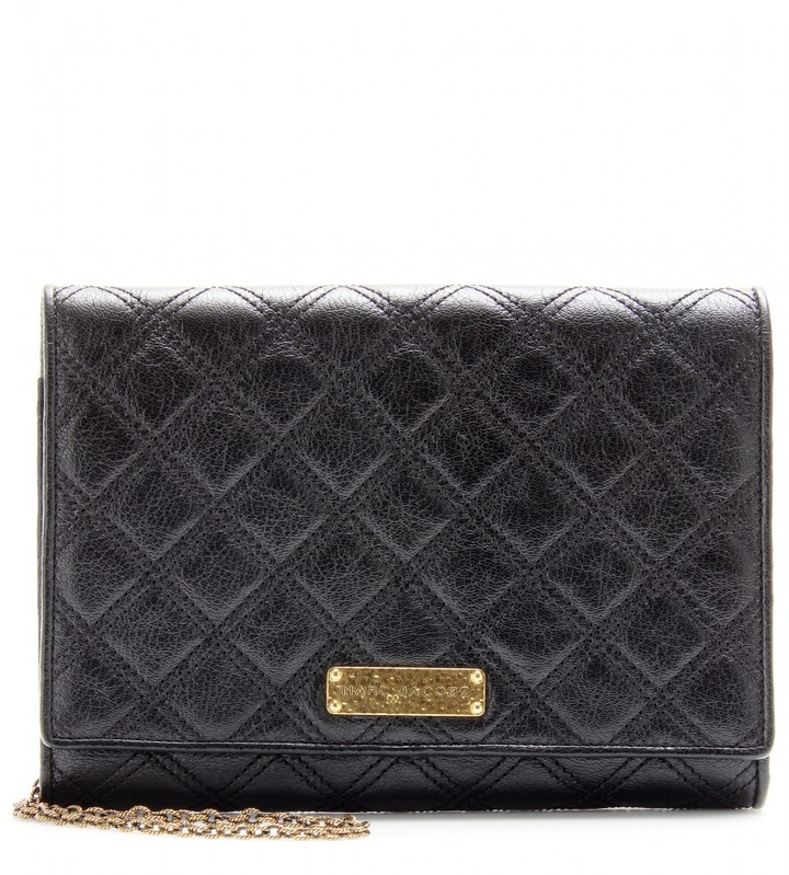 Marc Jacobs ALL IN ONE QUILTED LEATHER SHOULDER BAG
