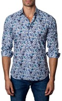 Jared Lang Men's Floral Print Sport Shirt
