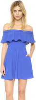 Black Halo Penelope Mini Dress
