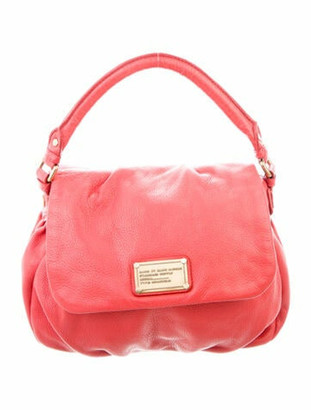 Marc by Marc Jacobs Leather Crossbody Bag Red