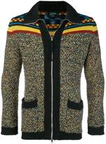 Jean Paul Gaultier Pre-Owned mixed pattern cardigan