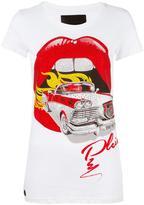 Philipp Plein Mouth T-shirt - women - Cotton - M