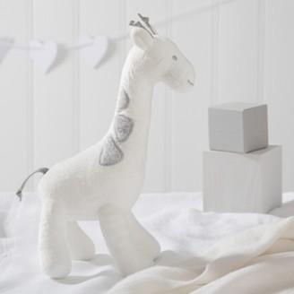 The White Company Georgia Giraffe Squeak Toy, White Grey, One Size